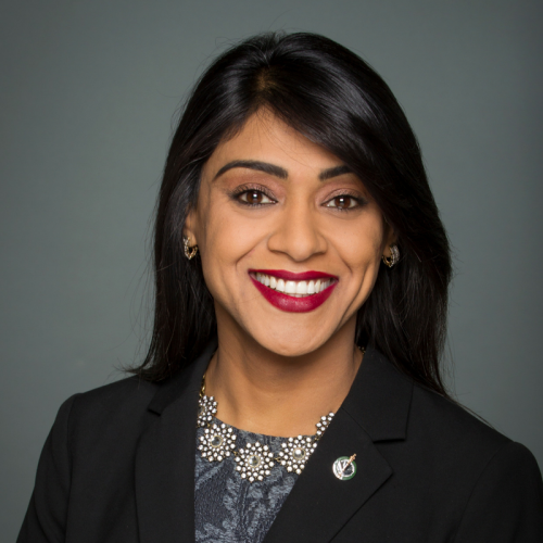 headshot of Bardish Chagger smiling